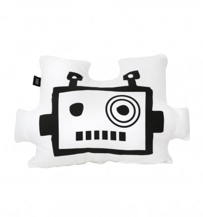 Robot cushion mask - white