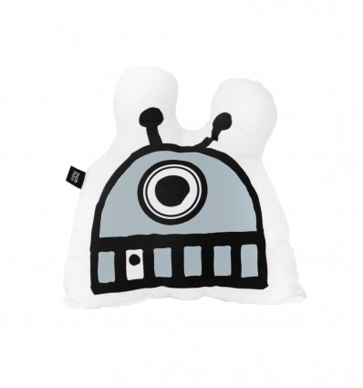 Robot cushion mask - grey