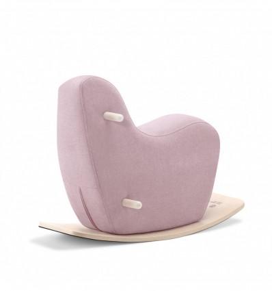 Pale pink Googy  toddler rocking horse