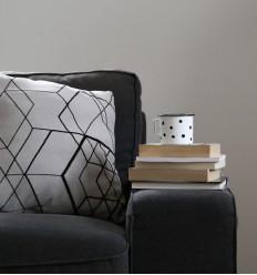 Matrix Cushion Cover - Light Gray