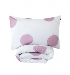 Dotty duvet cover&pillowcase - toddler bed