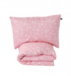 Snowflake duvet cover&pillowcase - toddler bed