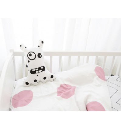 Dotty baby duvet cover