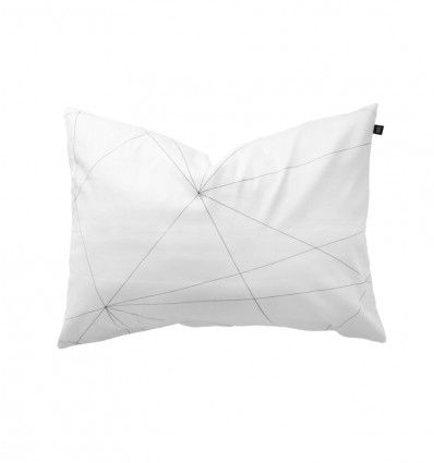 Geometric web pillowcase