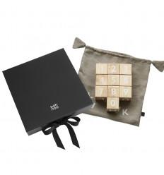 Alphabet Blocks in a Gift Box
