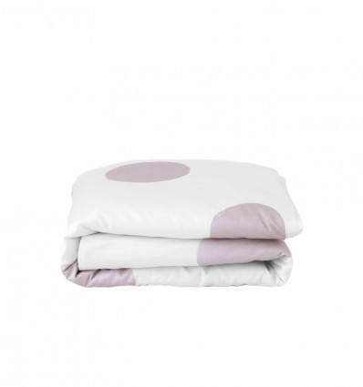 Pink bliss toddler duvet cover