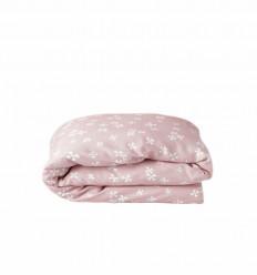 Blushing blossoms toddler duvet cover