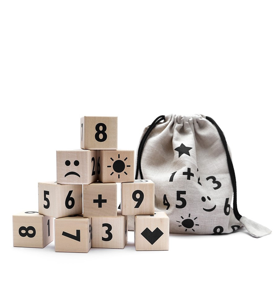 Math Blocks – Black