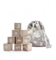 Math Blocks – White