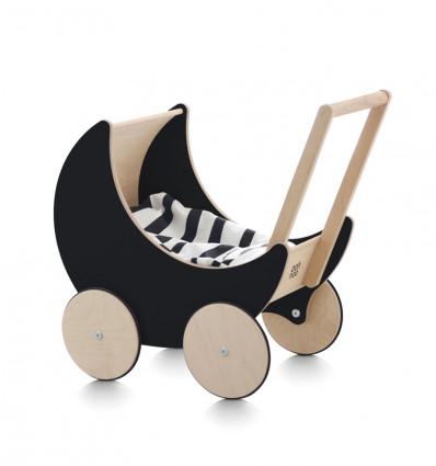 Black Toy Pram