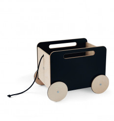 Toy Chest on Wheels - blackboard