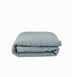 Slate Blue Toddler Duvet Cover