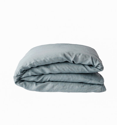Slate Blue Double Duvet Cover