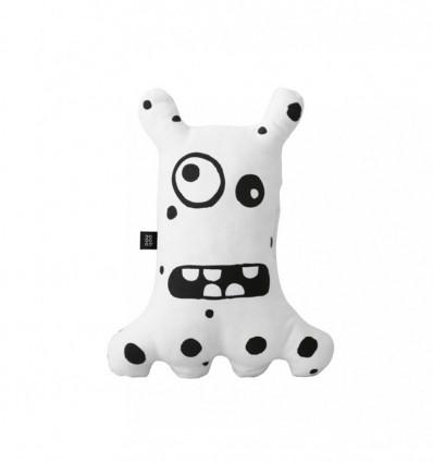 Big-eyed monster White
