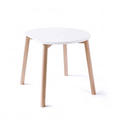 Half-Moon Table - White