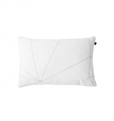 Geometric web toddler pillowcase