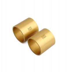 4 Napkin Rings - GOLD - SAMPLE SALE