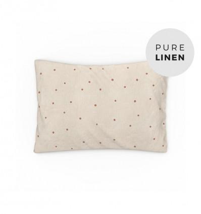 Hazel oat toddler pillowcase