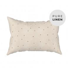 Hazel oat pillowcase