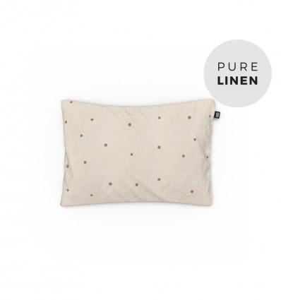 Hazel oat baby pillowcase
