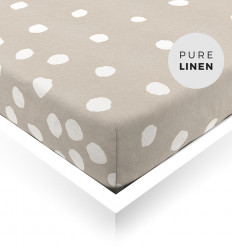 Buttons Toddler Fitted Sheet