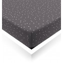 White Confetti Fitted Sheet