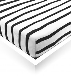 Zebra Baby Fitted Sheet