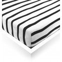 Zebra Toddler Fitted Sheet