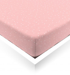 Bubble Confetti Baby Fitted Sheet