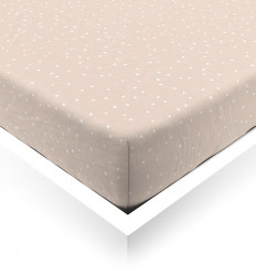 Powder Confetti Toddler Fitted Sheet
