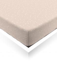 Powder Confetti Fitted Sheet