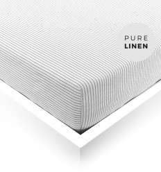 MORNING MIST Fitted Sheet