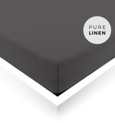 Countess Grey Double Fitted Sheet