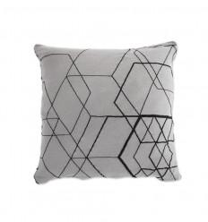 Matrix Cushion Cover - Dark Grey