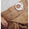Popcorn Baby Blanket - Caramel