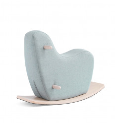 Pale Mint Toddler Rocking Horse