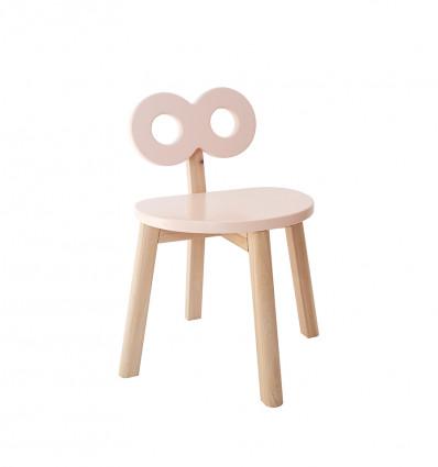 Double-O Chair - Blush