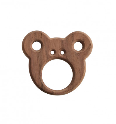WOODEN TEETHER – CARE BEAR