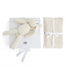 CUDDLY CREAM gift set - white box