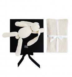 CUDDLY CREAM gift set - black box