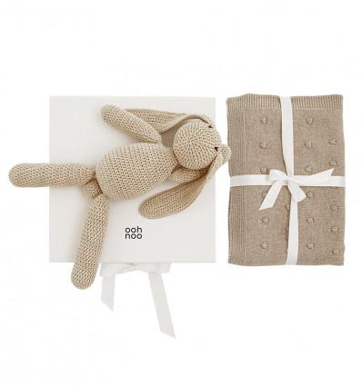 HONEY POPCORN gift set - white box