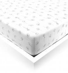 Poppy Field Toddler Fitted Sheet