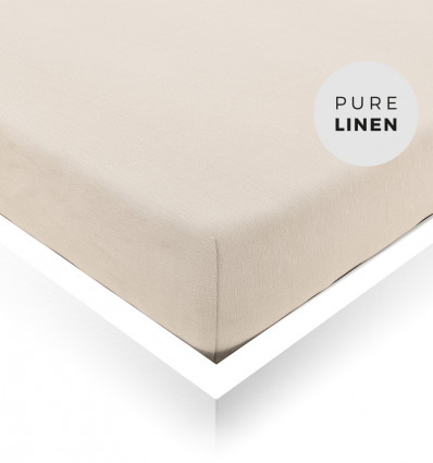 White Sand Toddler Fitted Sheet