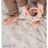 Hazel oat toddler duvet cover