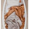 Deep Caramel Baby Duvet Cover
