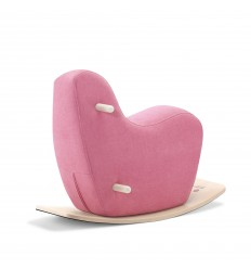 Pink Googy toddler rocking horse
