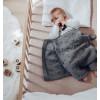 Popcorn Baby Blanket - Grey