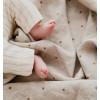 Hazel oat baby duvet cover