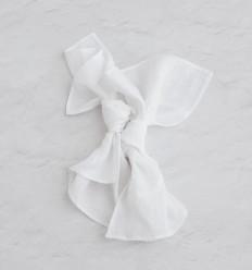 Linen napkins - Pure white