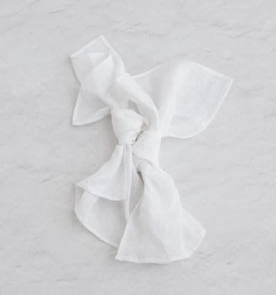Linen napkins - White Sand